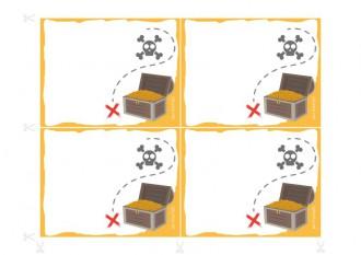 Inviti per il compleanno da stampare - Il consiglio dei pirati