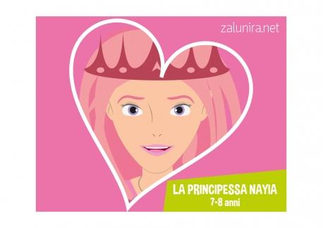 La principessa Nayia - 7-8 anni